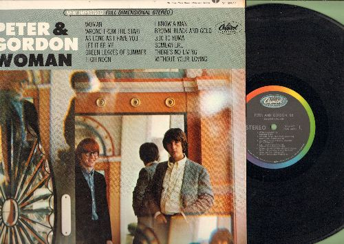 Peter & Gordon - Woman: Let It Be Me, High Noon, Somewhere, There's No Living Without Your Loving (Vinyl STEREO LP record) - NM9/NM9 - LP Records