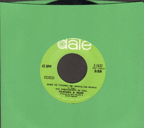 Peaches & Herb - When He Touches Me (Nothing Else Matters)/Thank You - EX8/ - 45 rpm Records