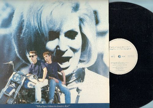 Pet Shop Boys with Dusty Springfield - What Have I Done To Deserve This? (2 Extended Dance Club Mixes)/A New Life (12 inch vinyl Maxi Single with picture cover, German Pressing) - EX8/NM9 - Maxi Singles