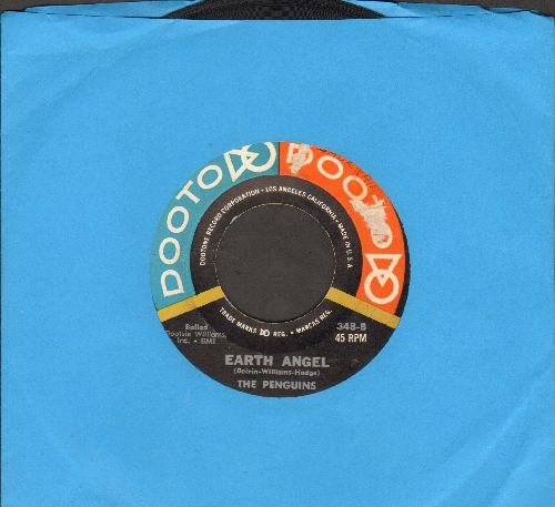 Penguins - Earth Angel/Hey Senorita (multi-color label) - VG6/ - 45 rpm Records