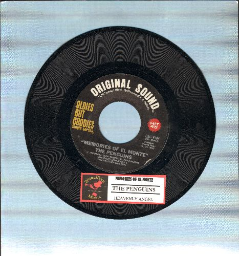 Penguins - Memories Of El Monte/Heavenly Angel (double-hit re-issue with juke box label) - M10/ - 45 rpm Records
