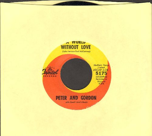 Peter & Gordon - A World Without Love/If I Were You  - NM9/ - 45 rpm Records