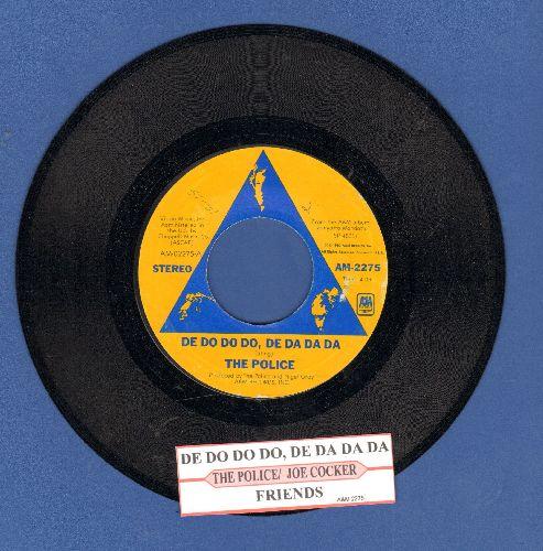 Police - De Do Do Do, De Da Da Da/Friends (with juke box label) - NM9/ - 45 rpm Records