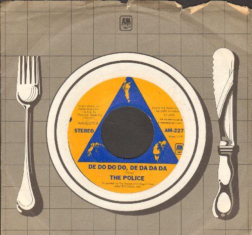 Police - De Do Do Do, De Da Da Da/Friends (with A&M company sleeve) - EX8/ - 45 rpm Records