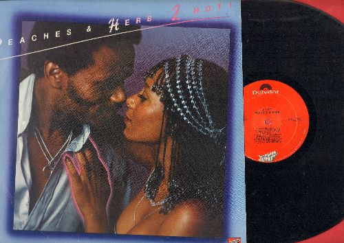 Peaches & Herb - 2 Hot: Reunited, We've Got Love, Shake Your Groove Thing, Easy As Pie, All Your Love (Give It Here) (Vinyl STEREO LP record, 1978 first pressing) - NM9/NM9 - LP Records