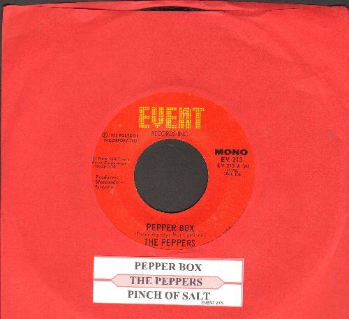 Peppers - Pepper Box/Pinch Of Salt (with juke box label) - EX8/ - 45 rpm Records
