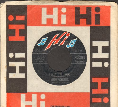 Peebles, Ann - I Pity The Fool/Hearaches (with company sleeve) - NM9/ - 45 rpm Records