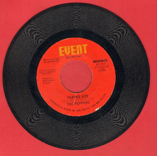 Peppers - Pepper Box/Pinch Of Salt - EX8/ - 45 rpm Records