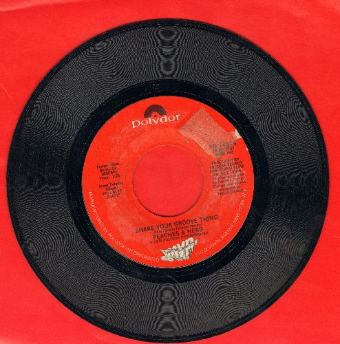 Peaches & Herb - Shake Your Groove Thing/All Your Love (sol) - EX8/ - 45 rpm Records