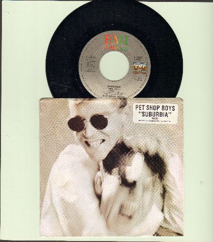 Pet Shop Boys - Suburbia/Jack The Lad (with picture sleeve) - NM9/NM9 - 45 rpm Records
