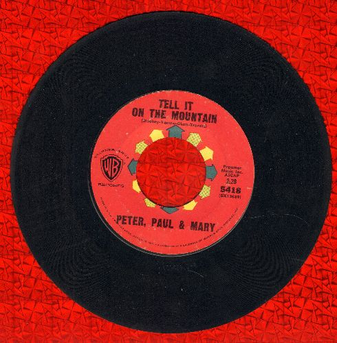 Peter, Paul & Mary - Tell It On The Mountain/Old Goat - EX8/ - 45 rpm Records