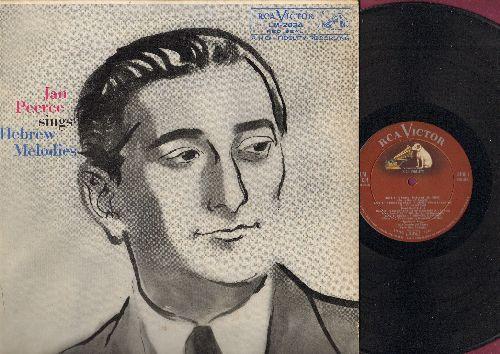 Peerce, Jan - Jan Peerce Sings Hebrwe Melodies: Kol Nidrei, A Dudele, Glick, Mom-E-Le, Rozhinkes Mit Mandlen, A Zemerl (vinyl MONO LP record, RED SEAL Pressing) - NM9/EX8 - LP Records