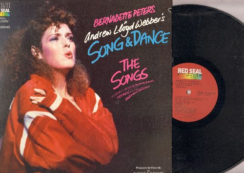 Peters, Bernadette - Andrew Lloyd Webber's Song & Dannce - The Songs (vinyl Digital LP record, gate-fold cover) - NM9/EX8 - LP Records