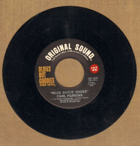 Perkins, Carl - Blue Suede Shoes/Honey Don't (re-issue) - EX8/ - 45 rpm Records