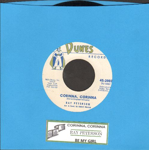 Peterson, Ray - Corinna, Corinna/Be My Girl (with juke box label) - NM9/ - 45 rpm Records