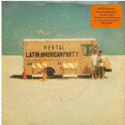 Pet Shop Boys - Domino Dancing/Don Juan - M10/EX8 - 45 rpm Records