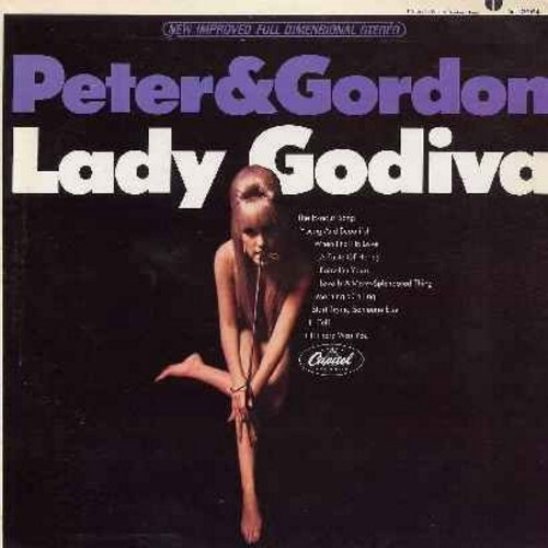 Peter & Gordon - Lady Godiva: The Exodus Song, When I Fall In Love, Baby I'm Yours, Love Is A Many-Splendored Thing, If I Fell, Till There Was You (Vinyl STEREO LP record) - EX8/EX8 - LP Records