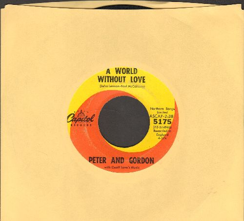 Peter & Gordon - A World Without Love/If I Were You  - EX8/ - 45 rpm Records