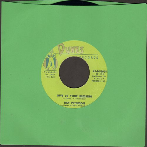 Peterson, Ray - You Thrill Me (FANTASTIC 50's Teen Idol Sound!)/Missing You (RARE Mint condition!) - M10/ - 45 rpm Records
