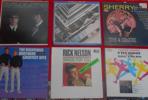 LP Cover 6-Pack - Set #9 includes 6 Vintage LP covers (NO records!) - Exactly as pictured, great for decoration or as replacement covers.  - VG7/ - Supplies