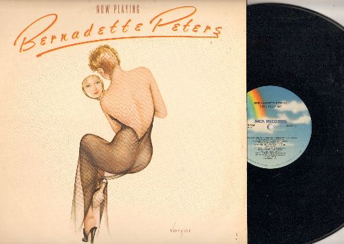 Peters, Bernadette - Now Playing: Tears On My Pillow, Dedicated To The One I Love, Don't, Broadway Baby, Carrying A Torch (vinyl LP record) - NM9/EX8 - LP Records