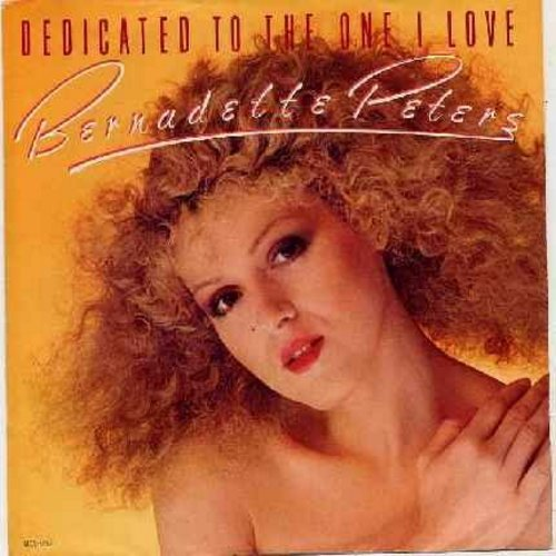 Peters, Bernadette - Dedicated To The One I Love (with picture sleeve) - NM9/EX8 - 45 rpm Records