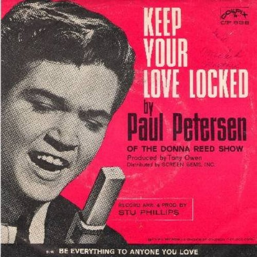 Petersen, Paul - Keep Your Love Locked/Be Everything To Anyone You Love (with picture sleeve) - M10/EX8 - 45 rpm Records
