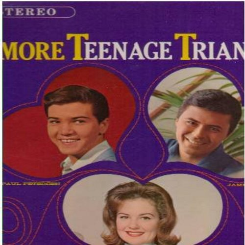 Fabares, Shelley, James Darren, Paul Petersen - More Teenage Triangle: Put On A Happy Face, Billy Boy, One Girl, He Don't Love Me, Kids (Folks), Gegetta (vinyl STEREO LP record, DJ advance copy in VERY NICE condition!) - M10/EX8 - LP Records
