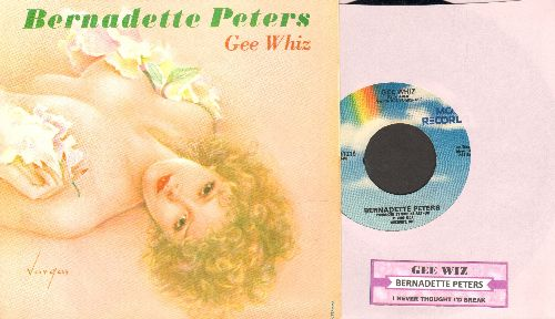 Peters, Bernadette - Gee Whiz (Look At His Eyes)/I Never Thought I'd Break (with juke box label and picture sleeve) - NM9/NM9 - 45 rpm Records
