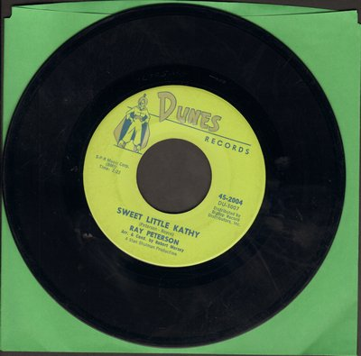 Peterson, Ray - Sweet Little Kathy/You Didn't Care - EX8/ - 45 rpm Records