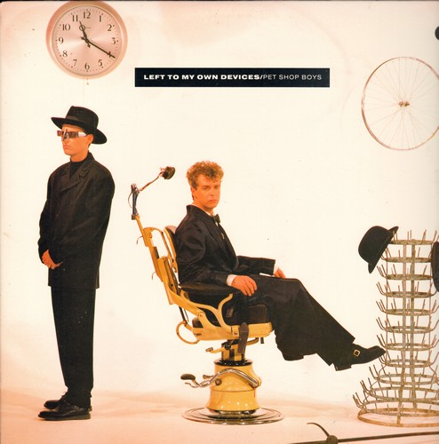 Pet Shop Boys - Left To My Own Devices (The 11:27 minutes Disco Mix)/Left To My Own Devices (4:45 minutes)/The Sound Of The Atom Splitting (3:37 minutes) (12 inch vinyl Maxi Single with picture cover) - M10/EX8 - Maxi Singles