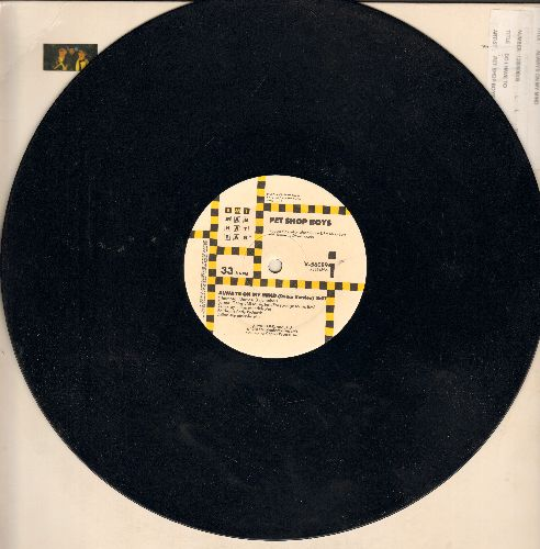 Pet Shop Boys - Always On My Mind - 12 inch 33 rpm vinyl Maxi Single featuring 8:07 minutes Dance Version, 5:55 minutes 12