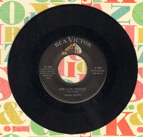 Petty, Daryl - One Love Forever/Goodnight, Mr. Blues - VG7/ - 45 rpm Records