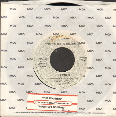 Petty, Tom & The Heartbreakers - The Waiting/Nightwatchman (with juke box label and MCA company sleeve) - NM9/ - 45 rpm Records