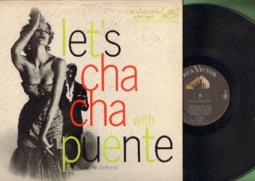 Puente, Tito & His Orchestra - Let's Cha Cha with Puente: Lindo Cha-Cha, Cubarama, You Are An Angel, Habanero, Guaririambo (Vinyl MONO LP record) - NM9/VG7 - LP Records