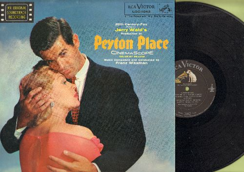 Peyton Place - Peyton Place: Original Motion Picture Sound Track (vinyl MONO LP record) - NM9/NM9 - LP Records