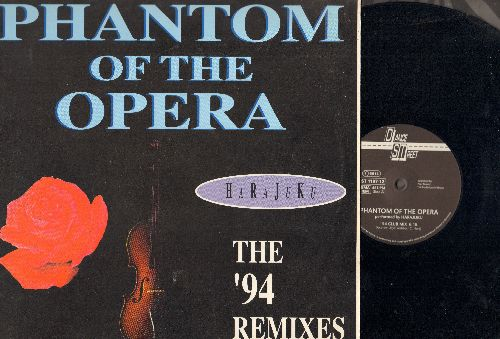 Harajuku - Phantom Of The Opera - 12 inch vinyl MAXI Single featurning '94 Club Mix (6:16 minutes) and Original USA Mix (6:27 minutes) (German Pressing with picture cover) - NM9/EX8 - Maxi Singles