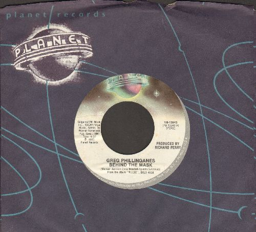 Phillinganes, Greg - Behind The Mask/Only You (with Planet company sleeve) - M10/ - 45 rpm Records