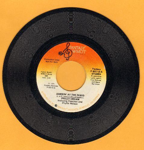 Philly Cream - Jammin' At The Disco (DJ advance pressing with MONO and STEREO version, FANTASTIC Disco-Sound!) - NM9/ - 45 rpm Records