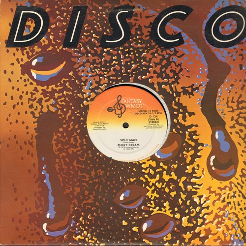 Philly Cream - Jammin' At The Disco (6:45 minutes Extended Version)/Soul Man (4:13 minutes Extended Version) (12 inch Maxi Single) - M10/ - 45 rpm Records