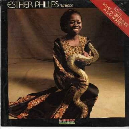 Phillips, Esther - Esther Phillips - What A Difference A Day Makes: Mister Magic, One Night Affair, Oh Papa, Turn Around Look At Me, Hurtin' House, You're Coming Home (Vinyl LP record) - NM9/EX8 - LP Records