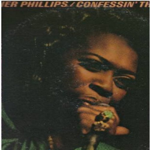 Phillips, Esther - Confessin' The Blues: I'm Getting' 'Long Alright, I Wonder, C. C. Rider, I Love Paris, Bye Bye Blackbird (Vinyl STEREO LP record) - VG7/VG7 - LP Records