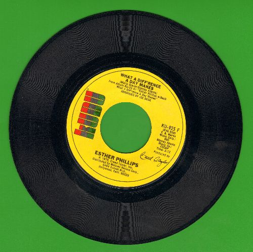 Phillips, Esther - What A Diff'rence A Day Makes/Turn Around, Look At Me - EX8/ - 45 rpm Records
