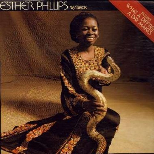 Phillips, Esther - What A Difference A Day Makes: One Night Affair, I Can Stand A Little Rain, Oh Papa, Turn Around Look At Me (Vinyl STEREO LP record) - EX8/NM9 - LP Records