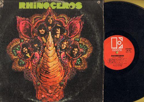 Rhinoceros - Satin Chicken: Satin Doll, Monkey Man, Black Door, Top Of The Ladder, Funk Butt (Vinyl STEREO LP record) - VG7/VG7 - LP Records