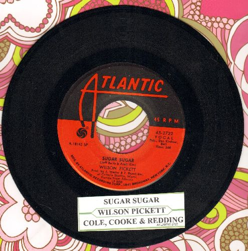 Pickett, Wilson - Sugar Sugar/Cole, Cooke & Redding - EX8/ - 45 rpm Records