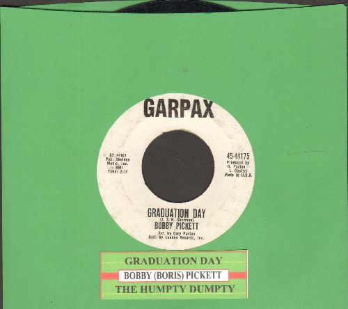 Pickett, Bobby (Boris) - Graduation Day/Humpty Dumpty  - EX8/ - 45 rpm Records