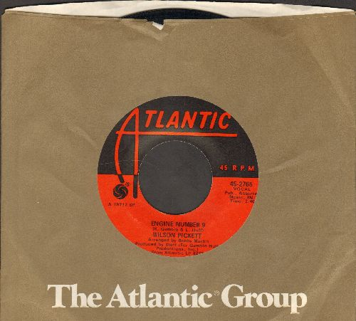 Pickett, Wilson - Engine #9/International Playboy (with Atlantic company sleeve) - NM9/ - 45 rpm Records