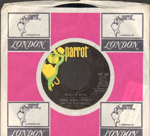 Pickett, Bobby (Boris) & The Crypt Kickers - Monster Mash/Monster Mash Party (Parrot label with company sleeve) - EX8/ - 45 rpm Records