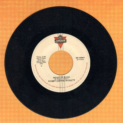 Pickett, Bobby (Boris) & The Crypt Kickers - Monster Mash/Monster Mash Party (Parrot label re-issue) - EX8/ - 45 rpm Records